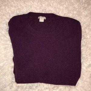 Jcrew light weight wool sweater